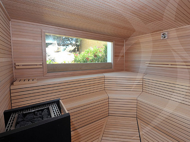 Finnish sauna HEMLOCK by Happy Sauna