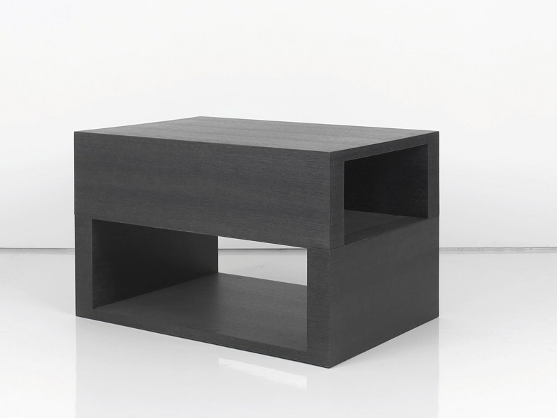 Square wooden coffee table TOURNEDOS by INTERNI EDITION