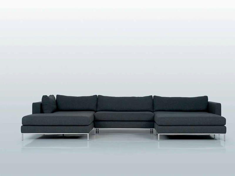 3 seater corner modular sofa ANVERS - INTERNI EDITION