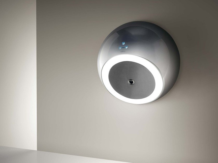 Wall-mounted technopolymer cooker hood BUBBLE - Elica