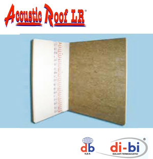 EPS Composite panel for roof Acoustic Roof LR® - FORTLAN - DIBI