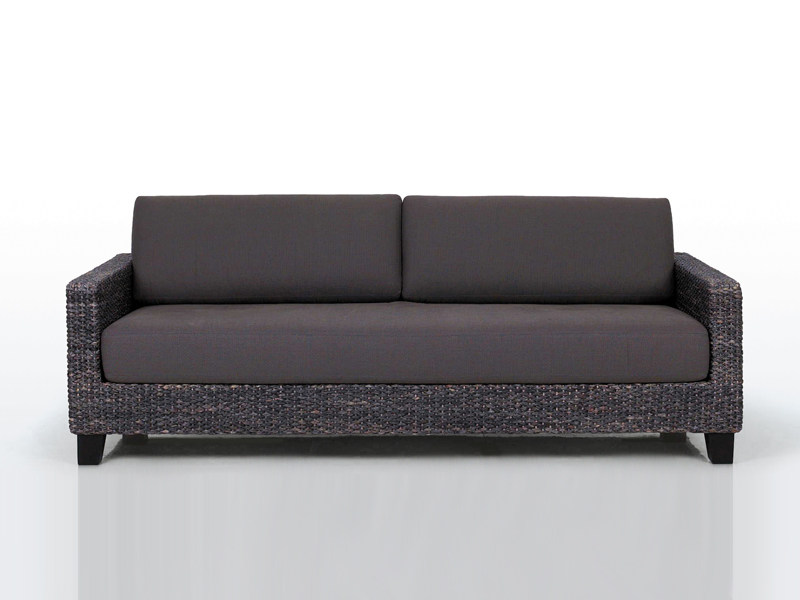 3 seater natural fibre sofa KYOTO by INTERNI EDITION