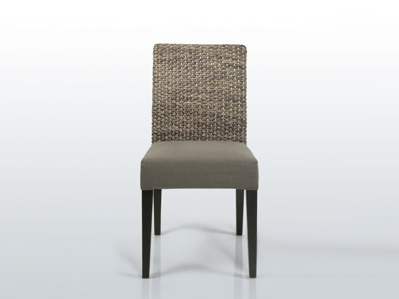 Natural fibre chair SEATON YO - INTERNI EDITION