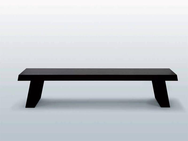 Wooden bench BANC BROADWAY - INTERNI EDITION