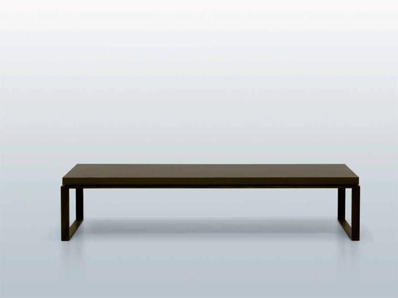 Wooden bench BANC HOUSTON - INTERNI EDITION