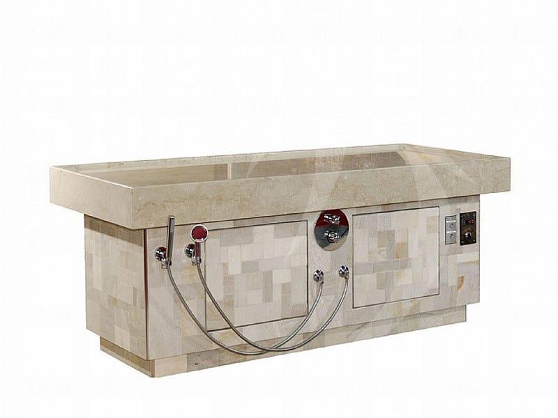 Heated massage bed Heated spa bed - Happy Sauna