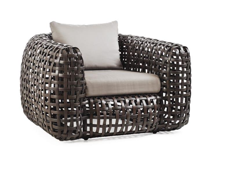 Rattan armchair MATILDA | Armchair by KENNETH COBONPUE