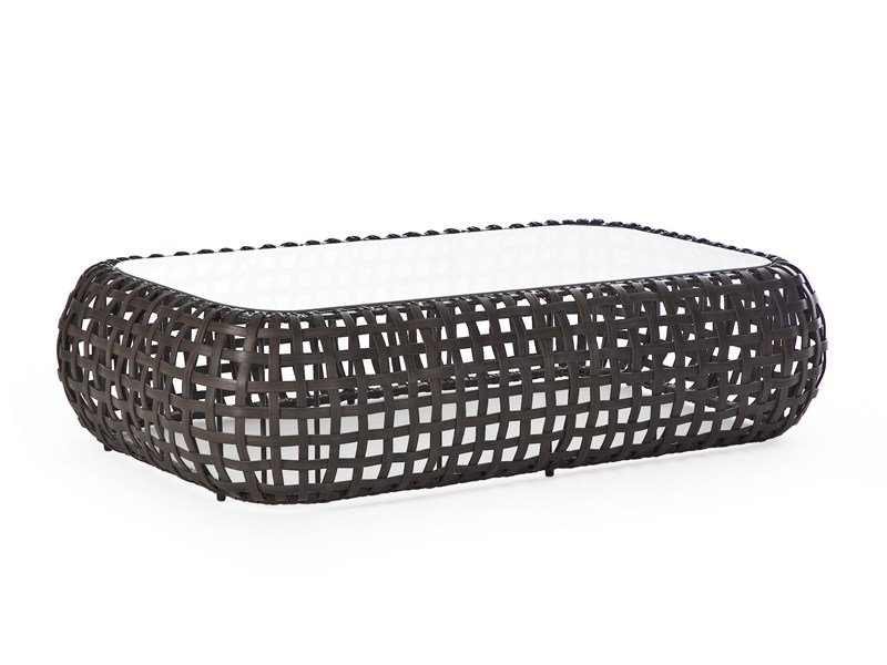 Rattan garden side table MATILDA | Garden side table by KENNETH COBONPUE