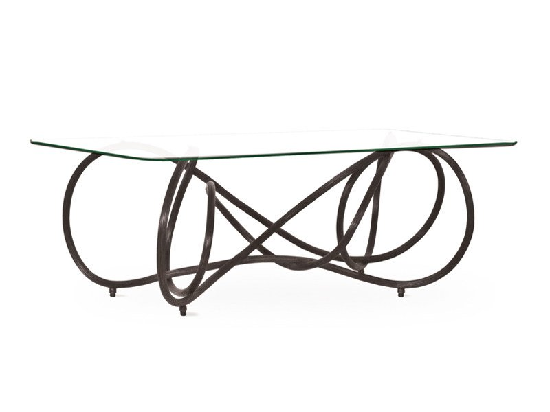 Rattan coffee table NOODLE | Coffee table - KENNETH COBONPUE