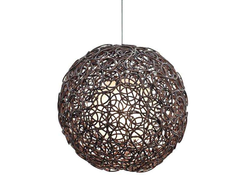 Rattan pendant lamp NOODLE | Pendant lamp - KENNETH COBONPUE