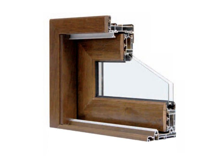 Fen tre levant coulissante en aluminium et bois topazio by for Fenetre aluminium bois