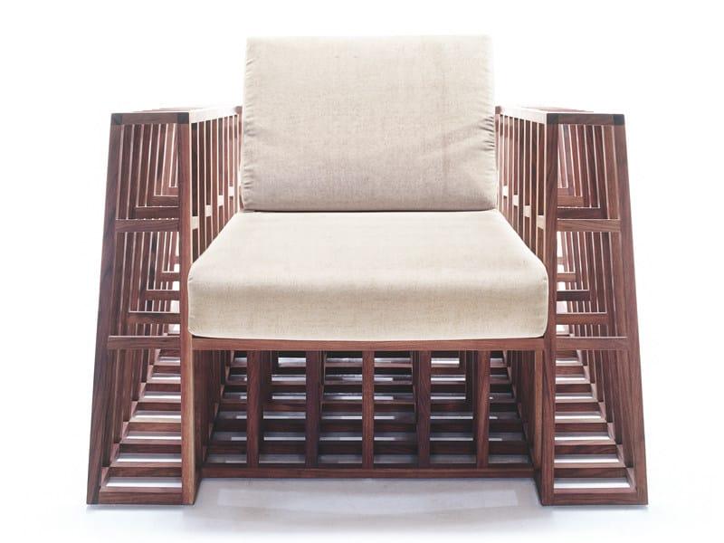 Ergonomic wooden armchair TILT! | Wooden armchair by KENNETH COBONPUE