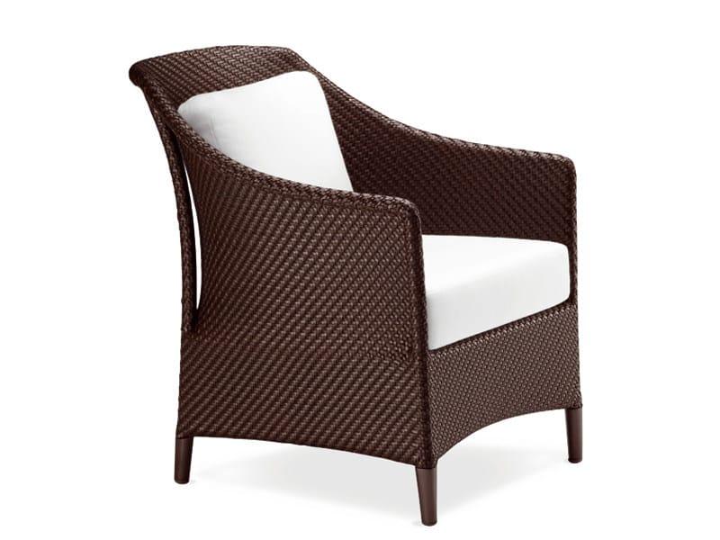 Garden armchair with armrests SUMMERLAND   Garden armchair - Dedon