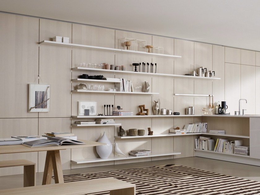 Wooden boiserie / wall shelf FLOATING SPACES SE 5005 - SieMatic