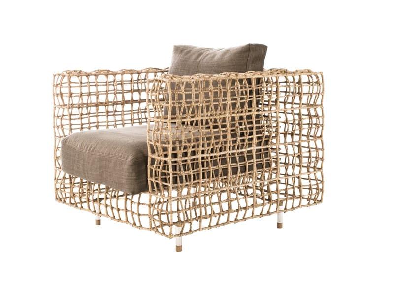 Polyethylene armchair YIN & YANG | Armchair - KENNETH COBONPUE