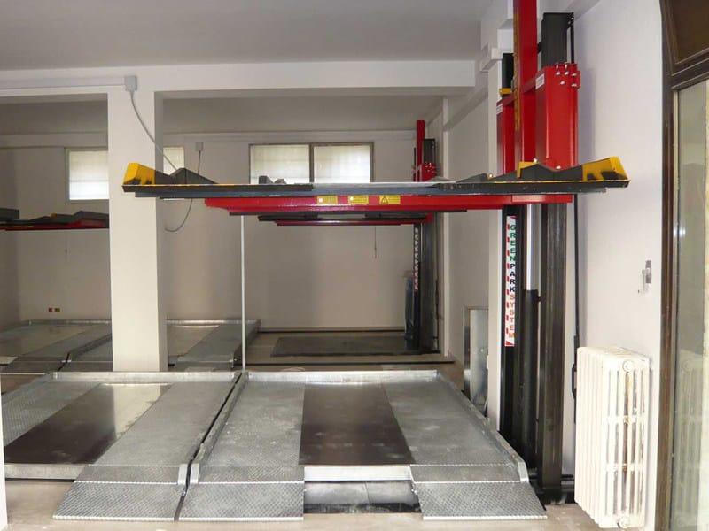 Elevatore monocolonna elevatore per auto monocolonna for Costo per incorniciare un garage