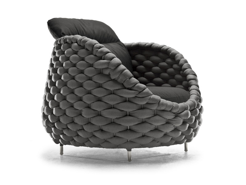 Upholstered armchair RAPUNZEL | Upholstered armchair - KENNETH COBONPUE