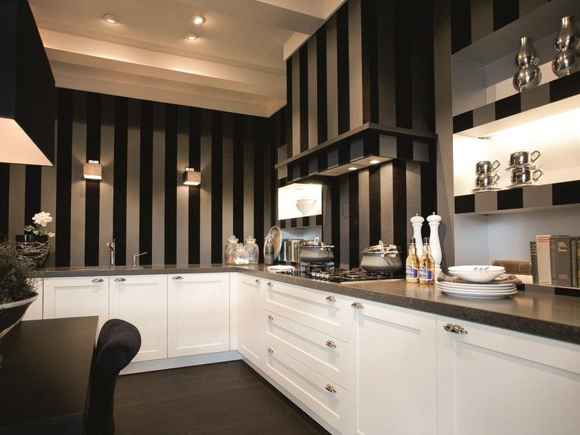 se 2002 rf cucina laccata by siematic. Black Bedroom Furniture Sets. Home Design Ideas