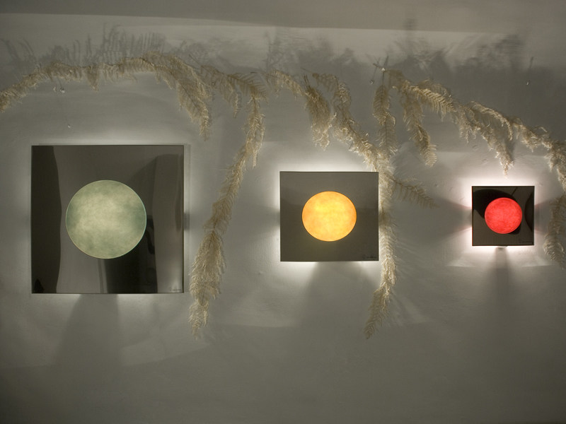 Nebulite® wall light WASHMACHINE by In-es.artdesign