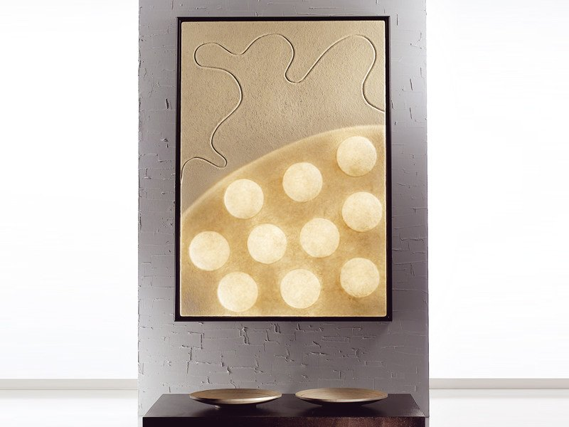 Nebulite® wall lamp TEN MOONS - In-es.artdesign