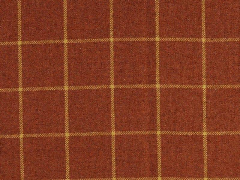 tissu carreaux en laine double scotch collection au coin du feu by nobilis. Black Bedroom Furniture Sets. Home Design Ideas