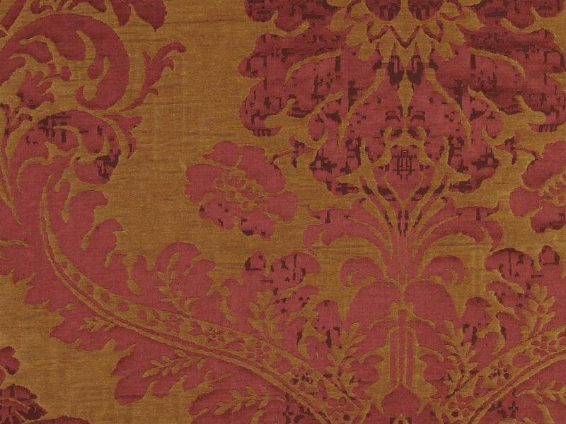 Tessuto damascato in lino epoque by nobilis - Tappeti damascati ...