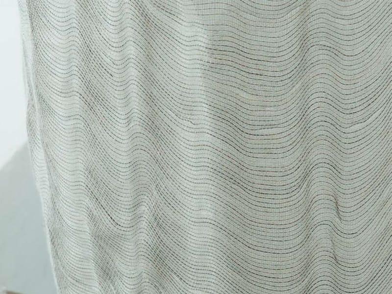 Tessuto in lino per tende ETRIER - Créations Métaphores