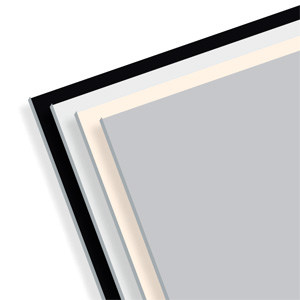 Sound absorbing fireproof ceiling tiles THERMATEX ALPHA - Knauf AMF Italia Controsoffitti