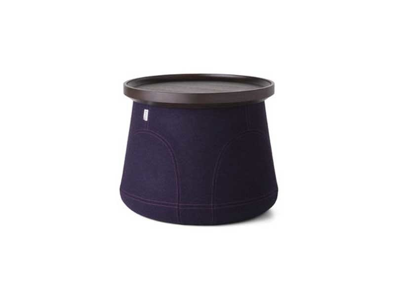 Upholstered polypropylene stool ELEMENTS 006 - Moooi©