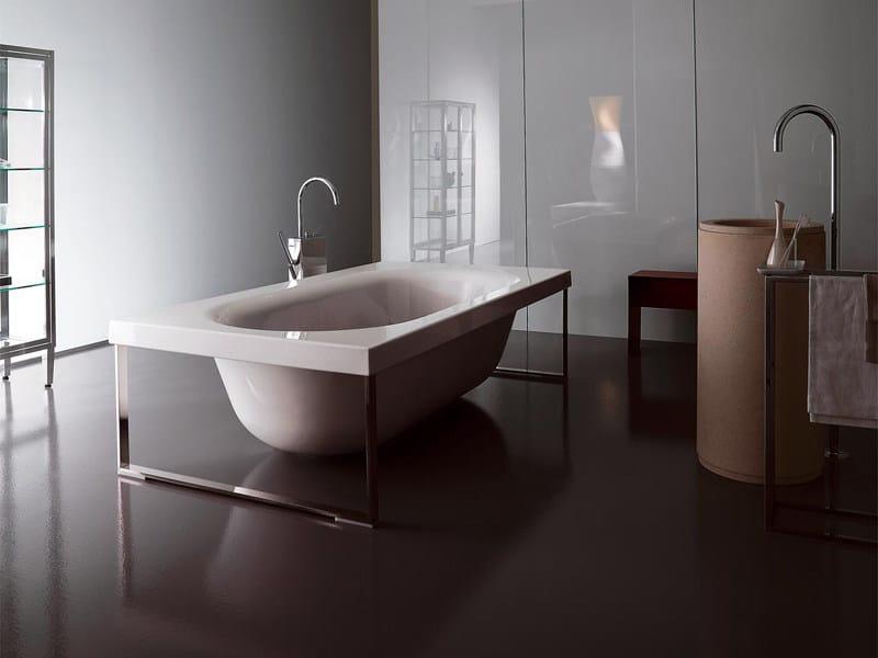 Vasche da bagno zucchetti kos kaos vasca a pavimento - Vasca da bagno pavimento ...