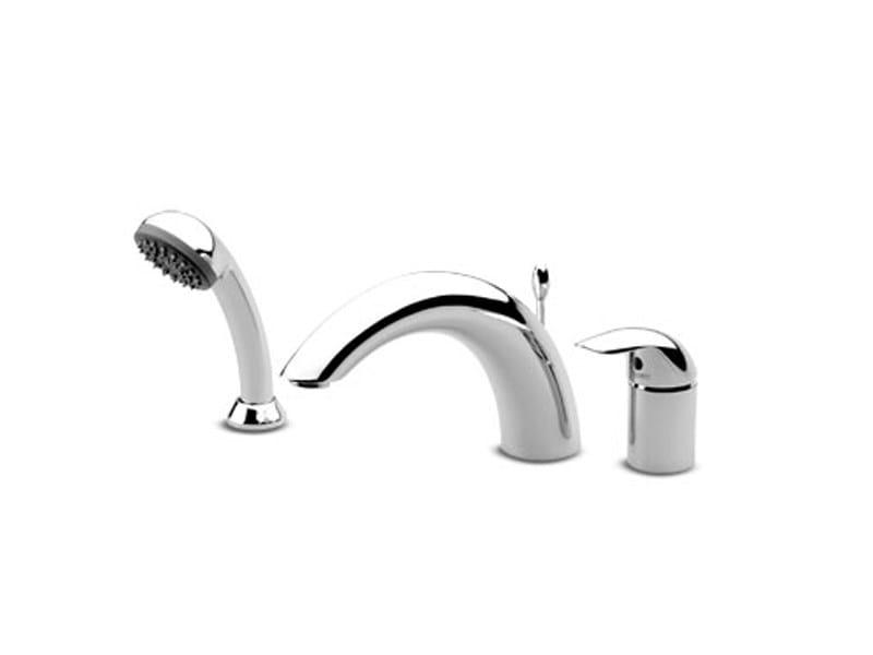 3 hole bathtub set with hand shower ELFO | Bathtub set by ZUCCHETTI