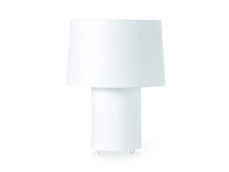 Indirect light PVC table lamp DOUBLE ROUND LIGHT - Moooi©