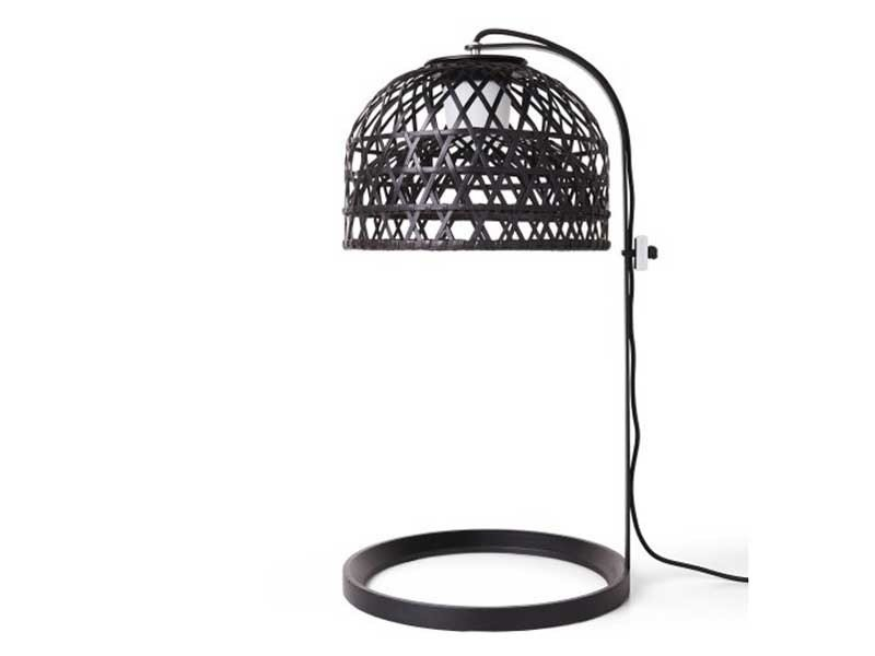 Bamboo table lamp with fixed arm EMPEROR TABLE LAMP - Moooi©