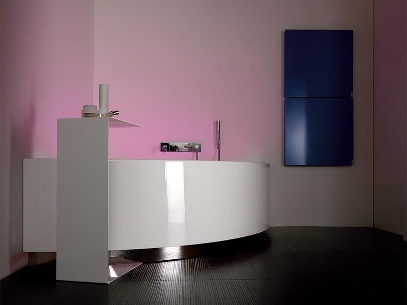 Vasca da bagno angolare grande angolo kos by zucchetti - Kos vasche da bagno ...
