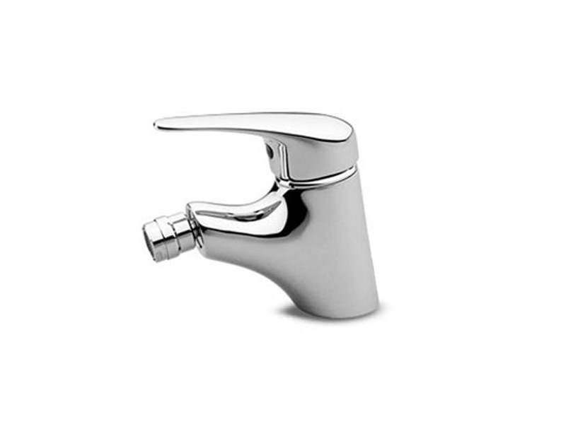 Chrome-plated single handle bidet mixer ZETAMIX 1700 | Bidet mixer - ZUCCHETTI