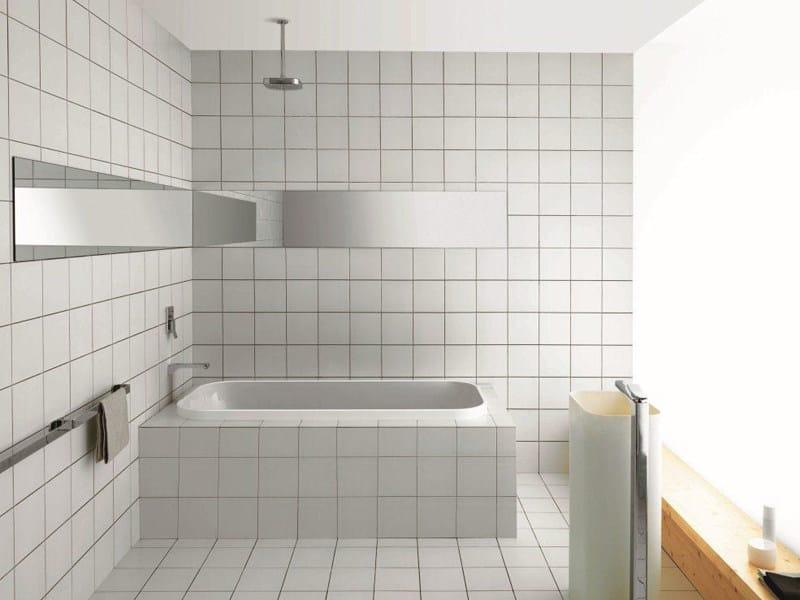 Vasca da bagno rettangolare in metacrilato da incasso geo - Kos vasche da bagno ...