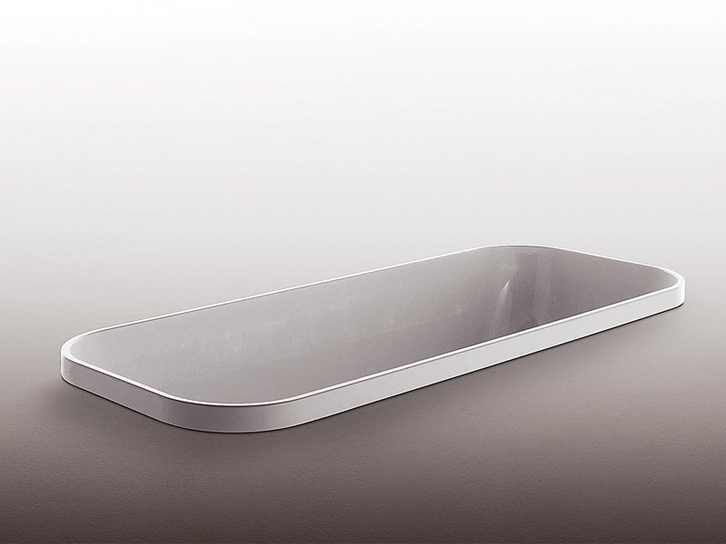 Built-in rectangular methacrylate bathtub GEO - Kos by Zucchetti