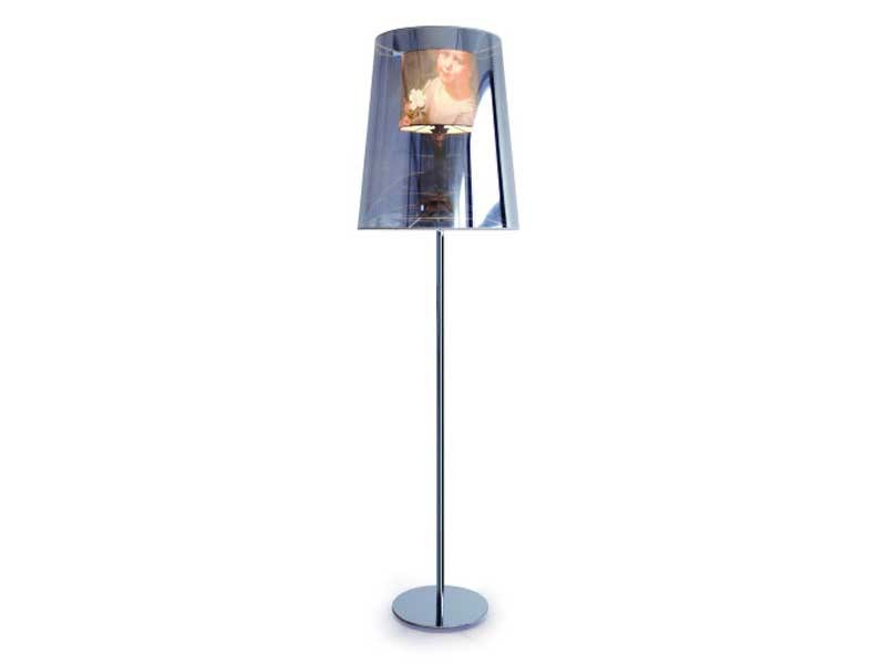 Indirect light polyester floor lamp LIGHT SHADE SHADE FLOOR LAMP - Moooi©