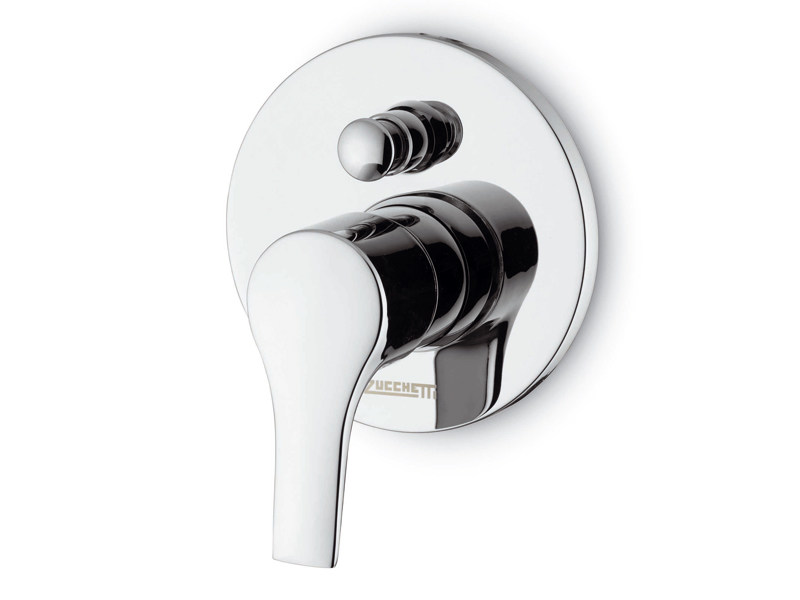 Bathtub tap / shower tap FLAT | Single handle shower mixer - ZUCCHETTI