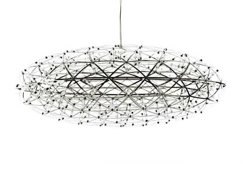 LED steel pendant lamp RAIMOND ZAFU - Moooi©