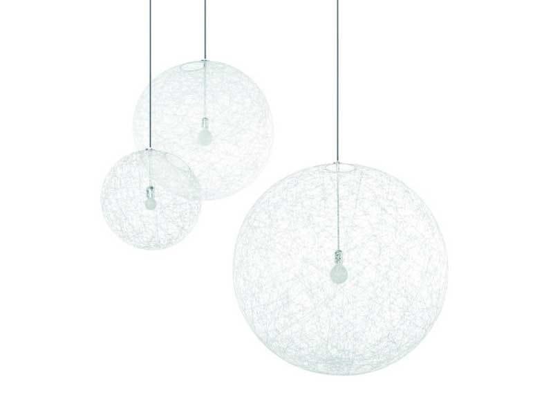 LED glass-fibre pendant lamp RANDOM LIGHT LED - Moooi©