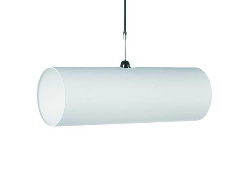 Indirect light PVC pendant lamp TUBE by moooi