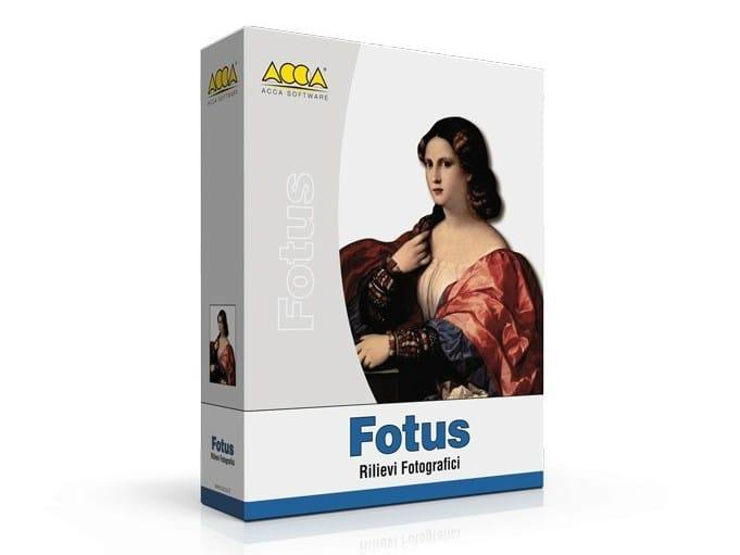 Photographic surveys FOTUS - ACCA software