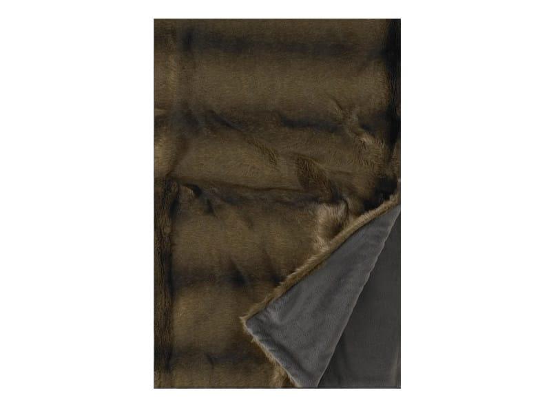 couvre lit plaid en tissu acrylique collection vision by nobilis. Black Bedroom Furniture Sets. Home Design Ideas