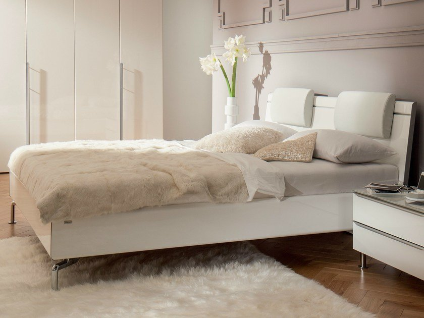 Lacquered double bed METIS PLUS | Lacquered bed - Hülsta-Werke Hüls