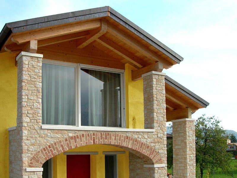 Rivestimento ecologico in pietra ricostruita per esterni for Rivestimento in mattoni per case