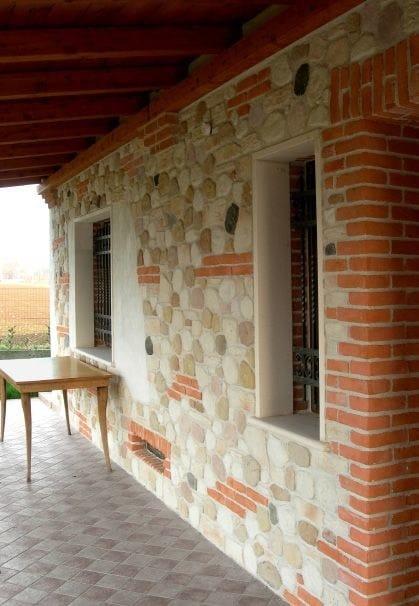 Rivestimento ecologico in pietra ricostruita per esterni misti italpietra - Rivestimento per esterno in pietra ...