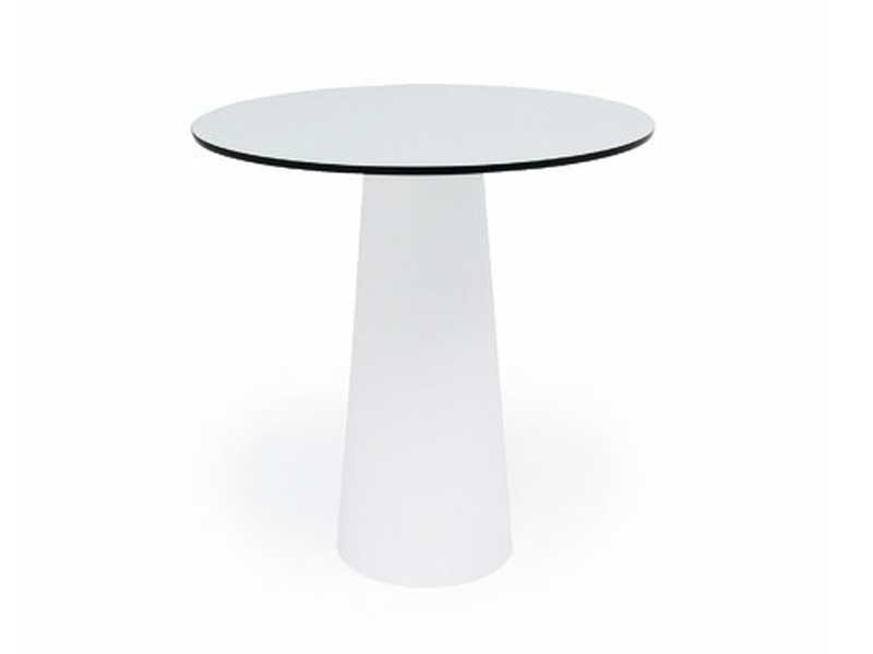 Resin high side table CONTAINER TABLE 70x70 & ROUND 70 - Moooi©