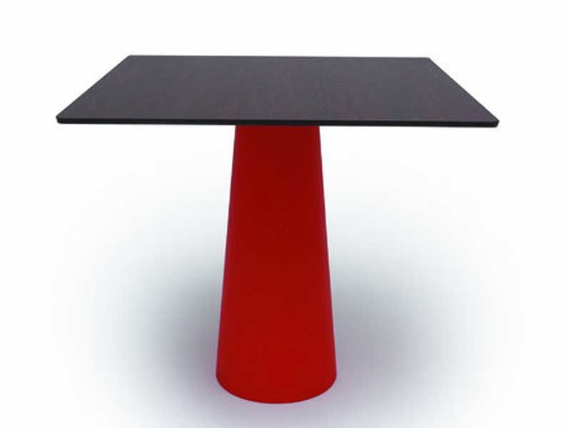 Resin table CONTAINER TABLE 90x90 & 90 ROUND - Moooi©