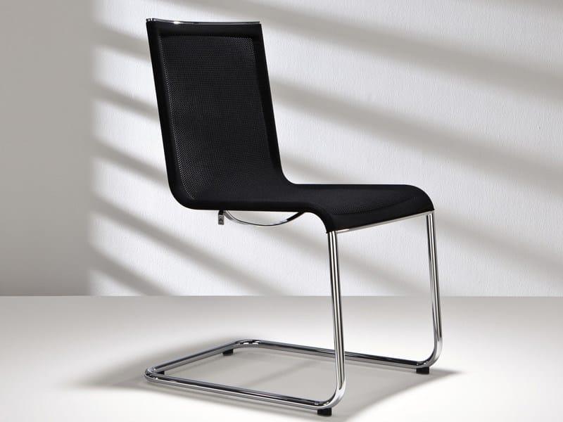 Cantilever mesh chair D18 PLUS | Cantilever chair - Hülsta-Werke Hüls